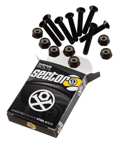 Sector 9 Bolt Pack Set, Black, 2-Inch