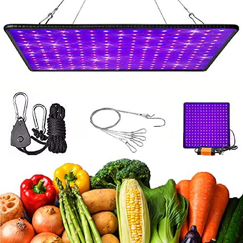 GreensinDoor 植物育成ライト LED栽培ライト 225個のLED 400W相当 省エネ 植物ライト フルスペクトル 日照不足解消 家庭菜園 野菜工場 多肉植物育成 観葉植物 水耕 野菜 栽培用育苗ライト