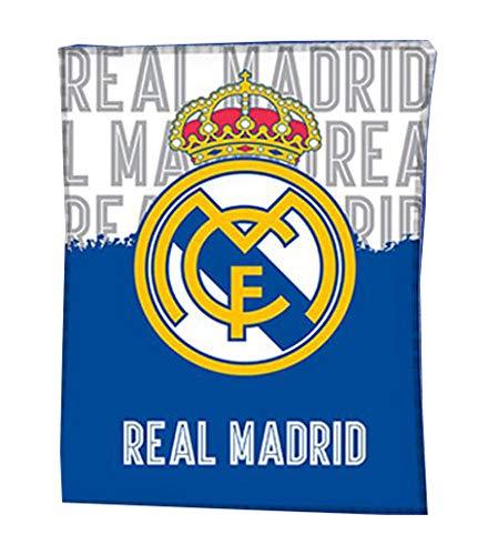 Manta Real Madrid Marca EL DRAGON BLANCO
