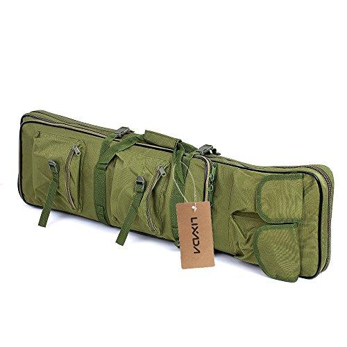 Lixada Gun Bag, 36' Padded Tactical Rifle Gun Case Shooting Hunting Barrel Scabbard Bag with Shoulder Sling Strap