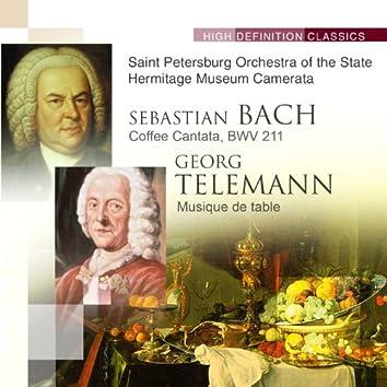 Bach Coffee Cantata, BWV 211; Telemann Musique de table