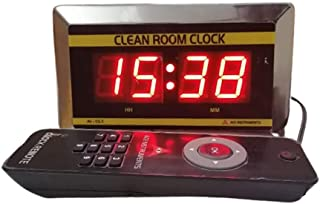 Clean Room Digital Clock AI-CL1 for Pharma, Bulk Drugs, Hospital, Food Processing, R&D Labs Alongwith Calibration Certific...