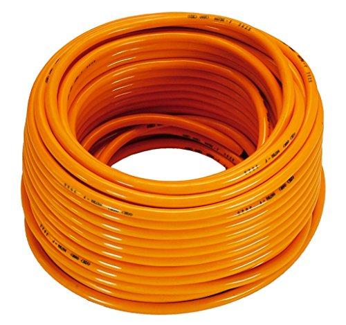 as - Schwabe Baustellen Kabelring 50 m, Leitung Typ H07BQ-F 5G4, orange, 59445