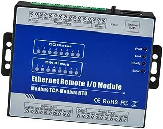 LOVIVER M330T Modbus TCP Ethernet 8 Channel IO Module For DAQ, PLC Remote Control