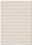 Panorama Papel Adhesivo para Muebles Geometría Rombo 66x100cm - Impreso en Vinilo Textil - Fácil Instalación, Lavable y Duradero - Papel Pintado Muebles