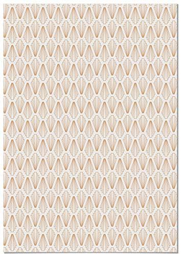 Panorama Papel Adhesivo para Muebles Geometría Rombo 66x100 cm - Impreso en Vinilo Textil - Instalación Fácil, Lavable y Duradero - Para Muebles