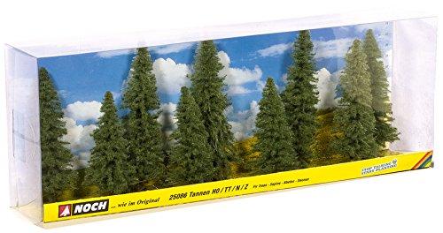 Noch 25086 Fir Trees 80-120Mm 9/ H0,Tt,N,Z Scale Model Kit