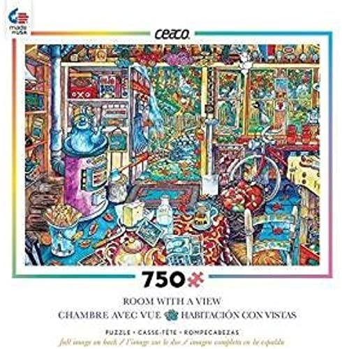 Ceaco Room with A View - The Workshop Puzzle (750 Piece) by Ceaco