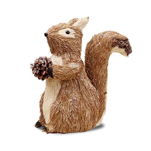 RB Miniatuur Eekhoorns Bos Tuin Eekhoorns Pop Outdoor standbeeld Fee Tuin Accessoires