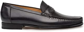 Mezlan Malaga - Mens Handsewn Moccasin with Burnished Finishes - European Calfskin Loafer - Handcrafted in Spain - Medium Width
