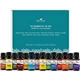 Plant Therapy 7 & 7 Essential Oilss Set 7 Single Oils: Lavender, Peppermint & More, 7 Synergy Blends...