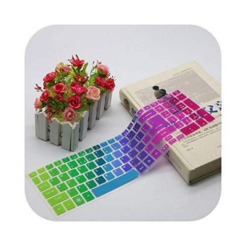 15 15.6' - Protector de teclado para Acer Aspire para Acer 5755 E1-510 V3-571G V3-551 V3-551G V3-571 ES1-531-Rainbow-