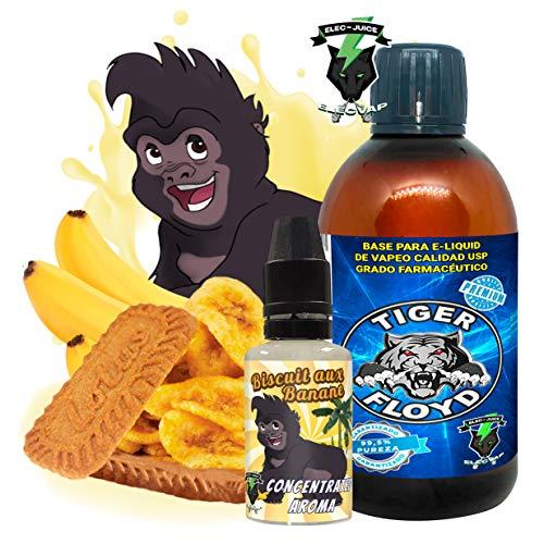 KIT Aroma Biscotto alla banana Concentrato 30 ML + Base - 70VG / 30PG PUREZZA 99,5% - 100 ml GRADO FARMACEUTICO