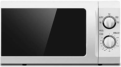 21L horno de microondas multifunción moldeada cartón revestido de tiempo mecánica aparatos de cocina (Color : White, Size : US plug)