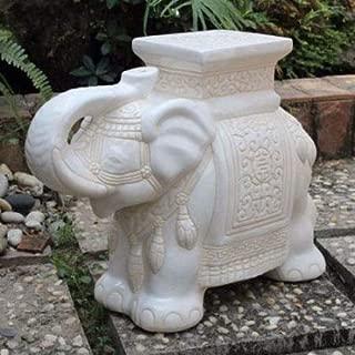 porcelain elephant stool