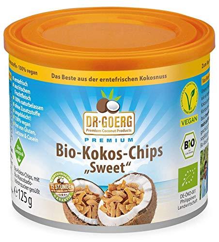 Dr. Goerg Bio Dr. Goerg Premium Bio-Kokoschips 125 g (2 x 125 gr)
