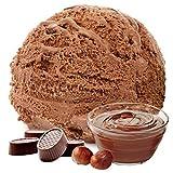 1 kg de helado de sabor en polvo de turrón de chocolate vegetariana - Azúcar - LACTOSA - GLUTEN -...