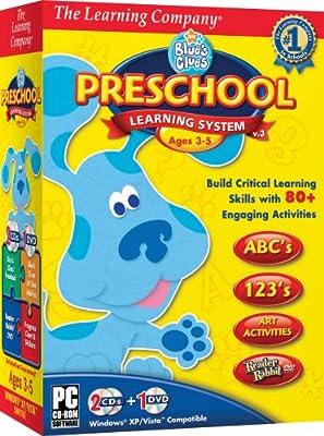TLC Blue's Clues Preschool Learning System 2008