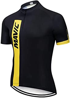 Pro Team Jerseys Bike Shirt Men S Cycling Jersey Ciclismo Bicicleta Sportswear Maillot Ciclismo Breathable LBYGDQ (Color : 14, Size : 4XL)