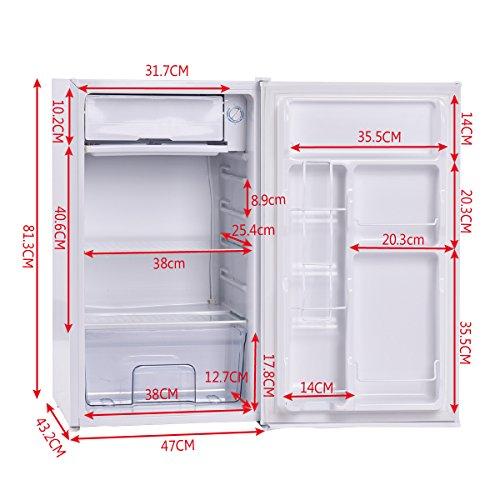 90L Nevera Refrigerador clase A+MINI Compacto congelador ...