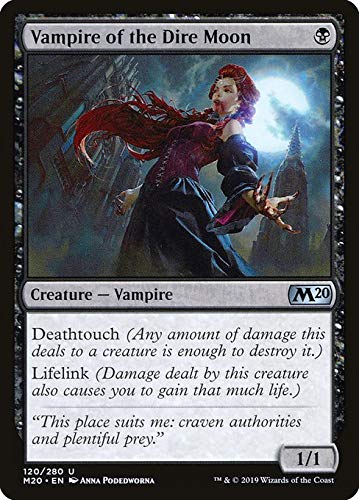 Magic : The Gathering MTG - Vampire of The Dire Moon - Core Set 2020 M20 120/345 English