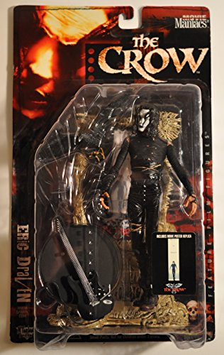 Movie Maniacs 2: The Crow Eric Draven Mcfarlane Action Figure