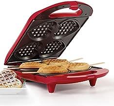 Holstein Housewares HF-09031R Heart Waffle Maker - Red