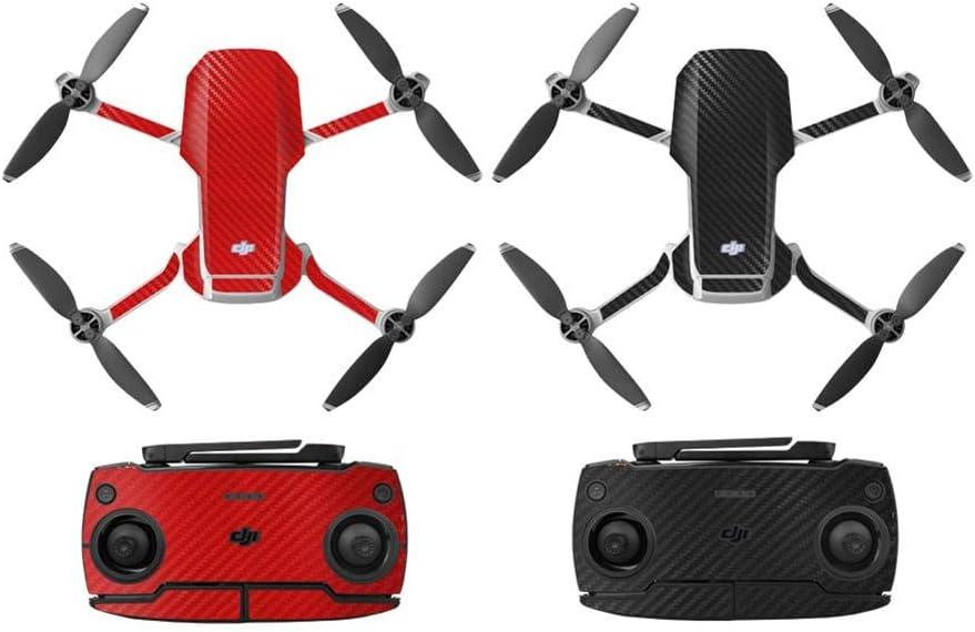 shewt Drone Sticker PVC Impermeable Etiqueta Protectora Resistente a los ara/ñazos RC Drone Body Arm Guard Cover para dji Mavic Mini