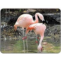 Flamingos Love HB0857マウスマットパッド-マウスパッドマウスパッド