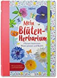 Mein Blüten-Herbarium: Pflanzen bestimmen, Blüten pressen und Basteln