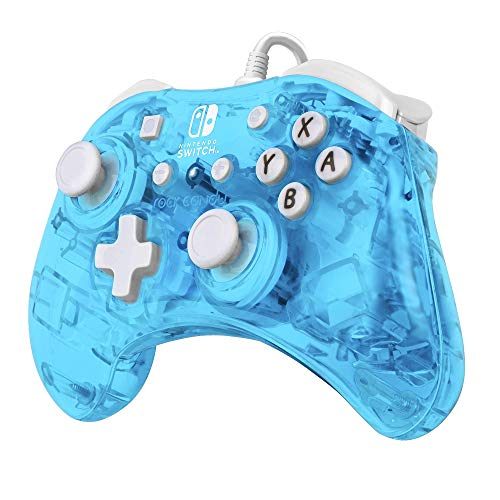 PDP 500-181-NA-NLBL Rock Candy Mini Wired Controller for Nintendo Switch, Blu-Merang Nintendo Switch