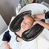 KANDU Haarwaschbecken Aufblasbar Shampoo Töpfe Haarwaschwanne Mobile Salon Becken Haarwaschmittel...