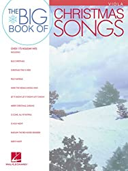 The Big Book of Christmas Songs - Best Play Along Beginner Music Books for Viola