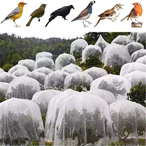 LYAID Jardin Netting, Maille Fine Filet Anti-Oiseaux, Les légumes Orchard Flower Garden Anti-Oiseaux Anti-Insectes Net, protégez Vos légumes, Cultures, Fleurs et Plantes,4 * 4 * 4M