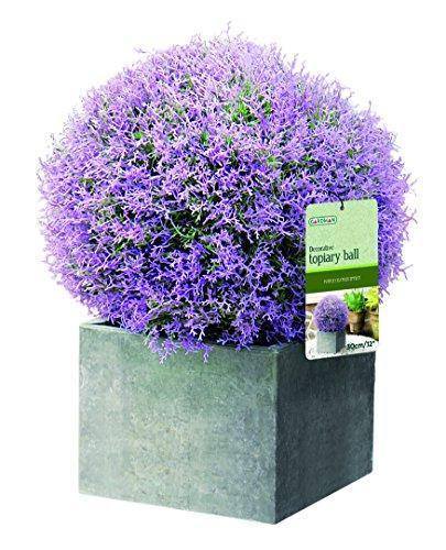 Gardman Künstliche Blumenkugel Heidekraut, 30cm, lila