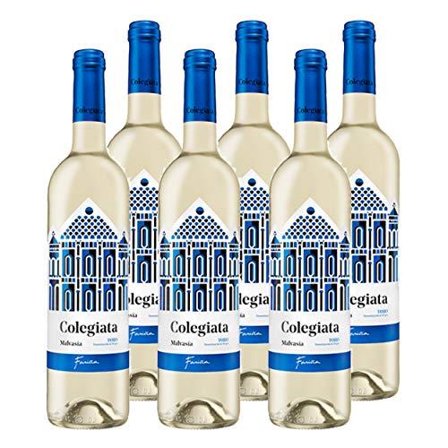 Vino Blanco 2020 COLEGIATA MALVASIA 2020-6 bot x 75 cl. - NUEVA AÑADA - FRESCO, FRESCO Y CON CHISPA - Malvasia Vino de Toro Fariña -