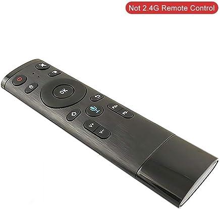 Greatideal Telecomandi Air Mouse Mouse Q5 Bluetooth 2.4GHz WiFi con Telecomando per Comando Vocale con Ricevitore USB per Android Box Smart TV -Tipo 1 - Trova i prezzi più bassi