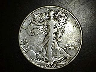 1938 D Walking Liberty Half Dollar- Exceptional Coin - Beautiful Strike 50c F US Mint