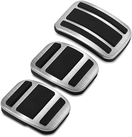 ZPARTNERS Pedal Pad de Acero Inoxidable MT para Peugeot 308, 308S, 308, 408