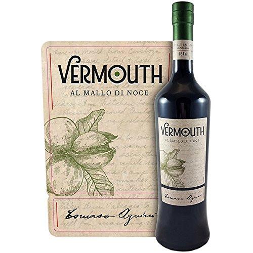 Vermouth al Mallo di Noce Tomaso Agnini, 75cl, 18% vol. Premium Italian Vermouth distillato a Finale Emilia nel cuore della pianura di Modena.