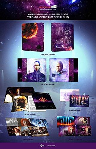 The Fifth Element - Das Fünfte Element - Steelbook - Fullslip Typ B - Kimchidvd exklusiv #26 - Blu-ray