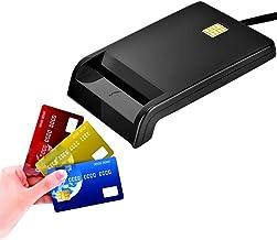 VBESTLIFE CAC - Chipkartenleser, DOD - Militär - USB - ID/IC - Bankkartenleser für DNIE, ATM, IC, ID, CAC, SIM, Chipkarte usw