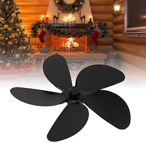 Gaeirt Aspa del Ventilador, Gran Volumen de Aire Circula el Aire Caliente Ajusta la Velocidad Aspa del Ventilador de la Chimenea de 5 aspas para Mejorar la circulación del Aire Caliente para los