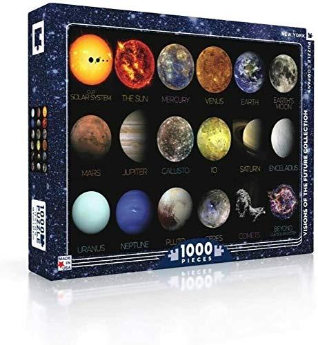 New York Puzzle Company - NASA The Solar System - 1000 Piece Jigsaw Puzzle