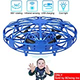 Mini Drones for Kids & Adults, RC UFO Helicopter with LED Lights, H