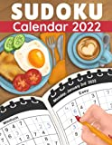 Sudoku Calendar 2022: One Puzzle a Day Calendar with 365 Sudokus from Easy to Hard for Adults