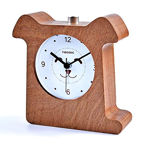 FIBISonic-Reloj Despertador de Madera de...