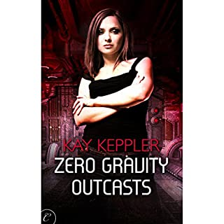 Zero Gravity Outcasts audiobook cover art