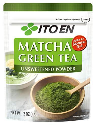 Ito En Matcha Green Tea Japanese Matcha Powder, Unsweetened, 2 Ounce
