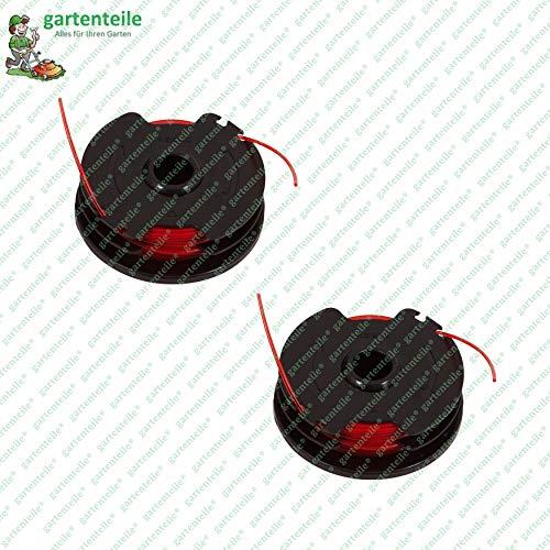 Fadenspule 2er Pack, Ersatzspulen mit jeweils 2 x 3 m Faden, passend für Parkside Rasentrimmer PRT 550 A1 - LIDL IAN 311404